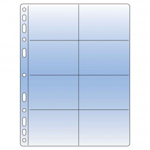 Trading Card Compact Clear Pocket Refill - 92x58mm