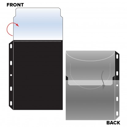 Blu-Ray and DVD Pocket Refills