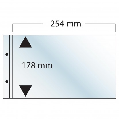 FDC Compact Landscape Pocket Refill 254 x 178 mm - singles