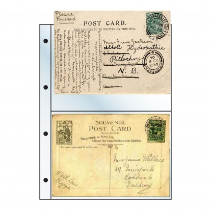 Postcard Clear Pocket Refill -145x95mm (pack of 10)