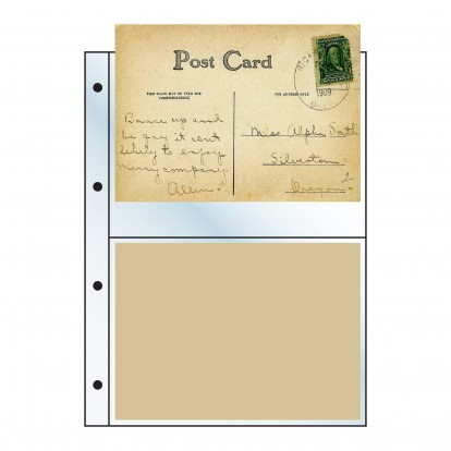 Postcard Clear Refill -164x110mm (pack of 10)