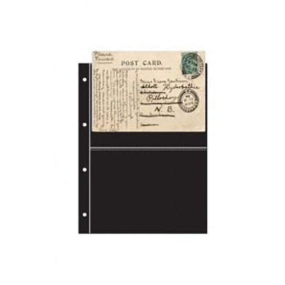Collectable Refill Sheets - Black 174x118mm (pack of 10)