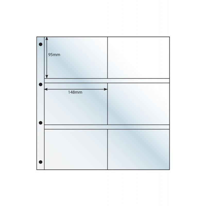 Large Format Clear Acid-Free