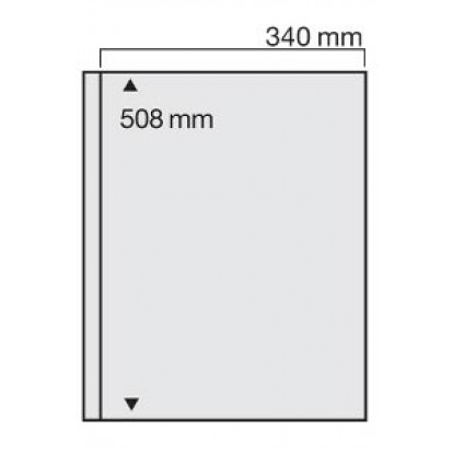 Clear Giant Acid-Free Refill 340x508mm(2) (Pack of 1)