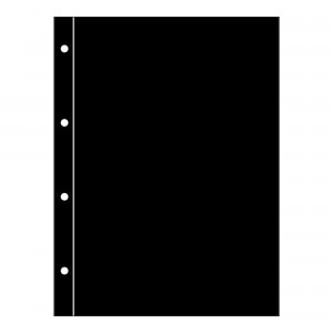 Black Folio Interleaf