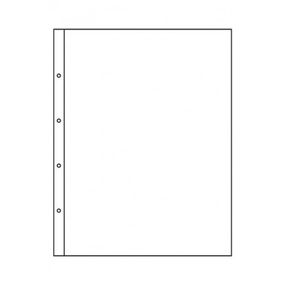Clear Kanzlei Acid-Free Refills 330x420mm(1) (pack of 5)