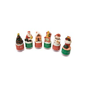 Christmas Roller stamps