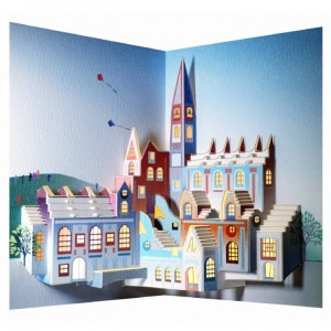 Cathedral- Amazing Pop-up Card