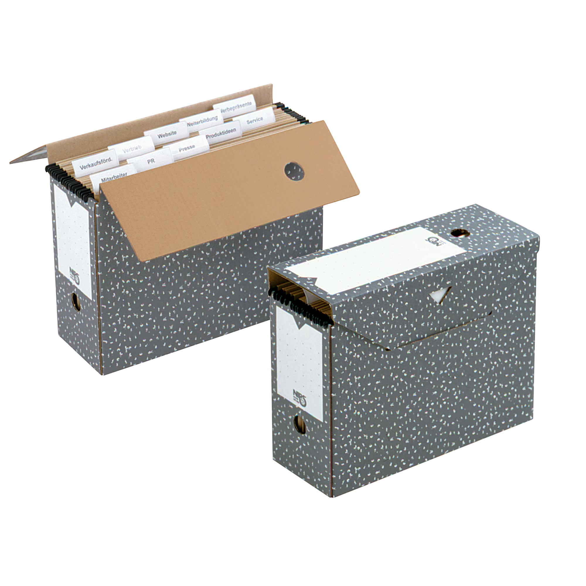 Archive Box For A4 Suspension Files And Hanging File