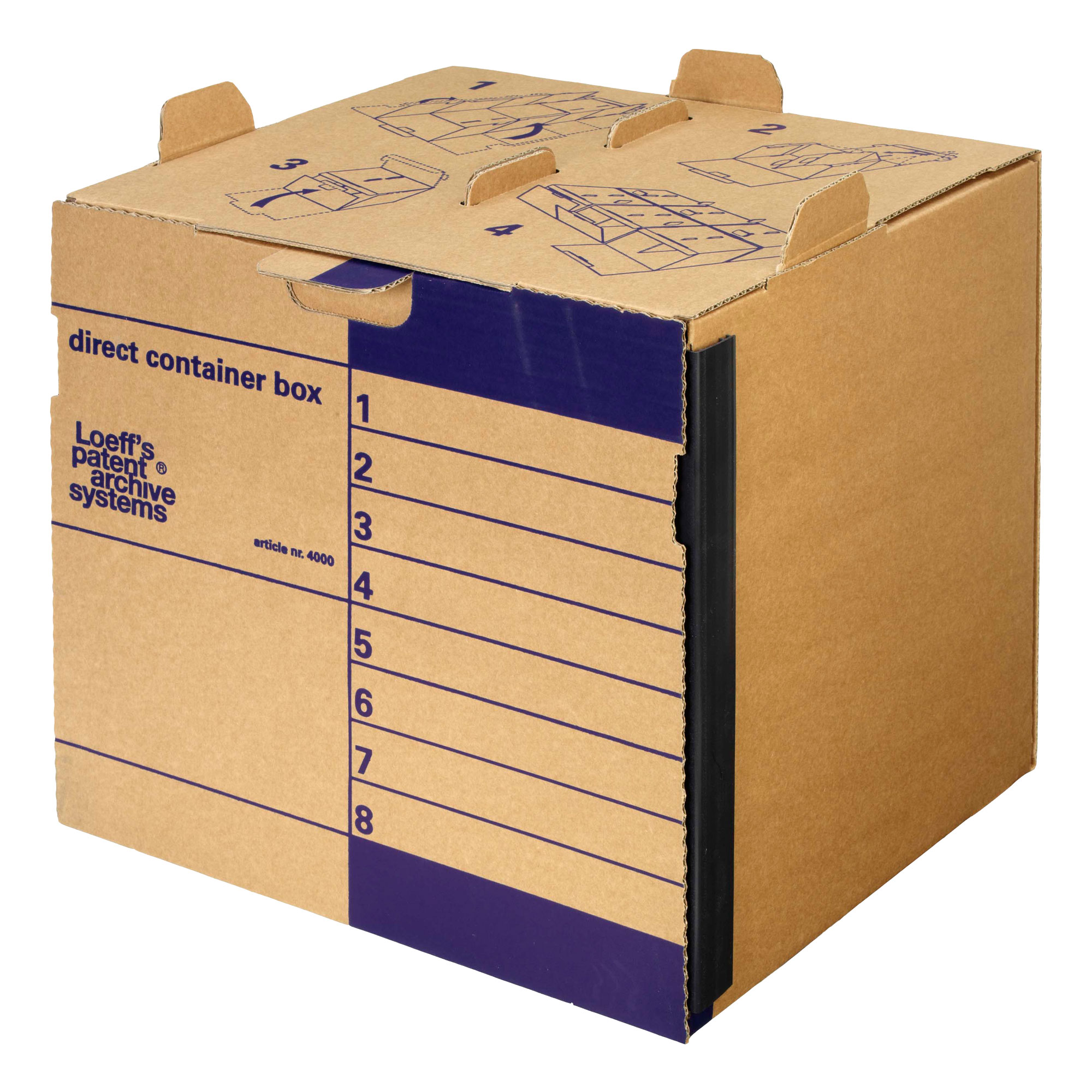 Loeff S Direct Container System A4 Foolscap