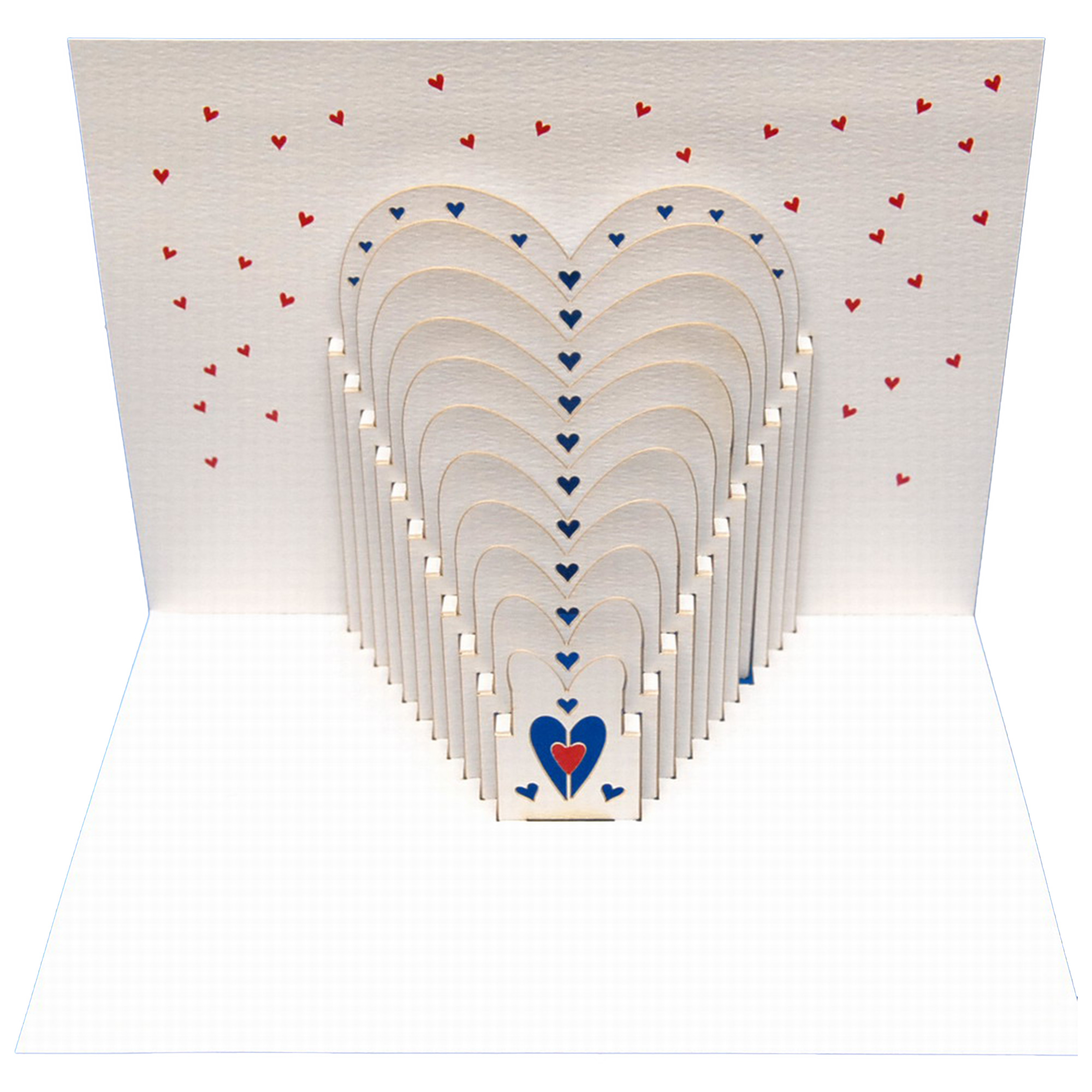 Hearts amazing pop up greeting card m4hsunfo Image collections