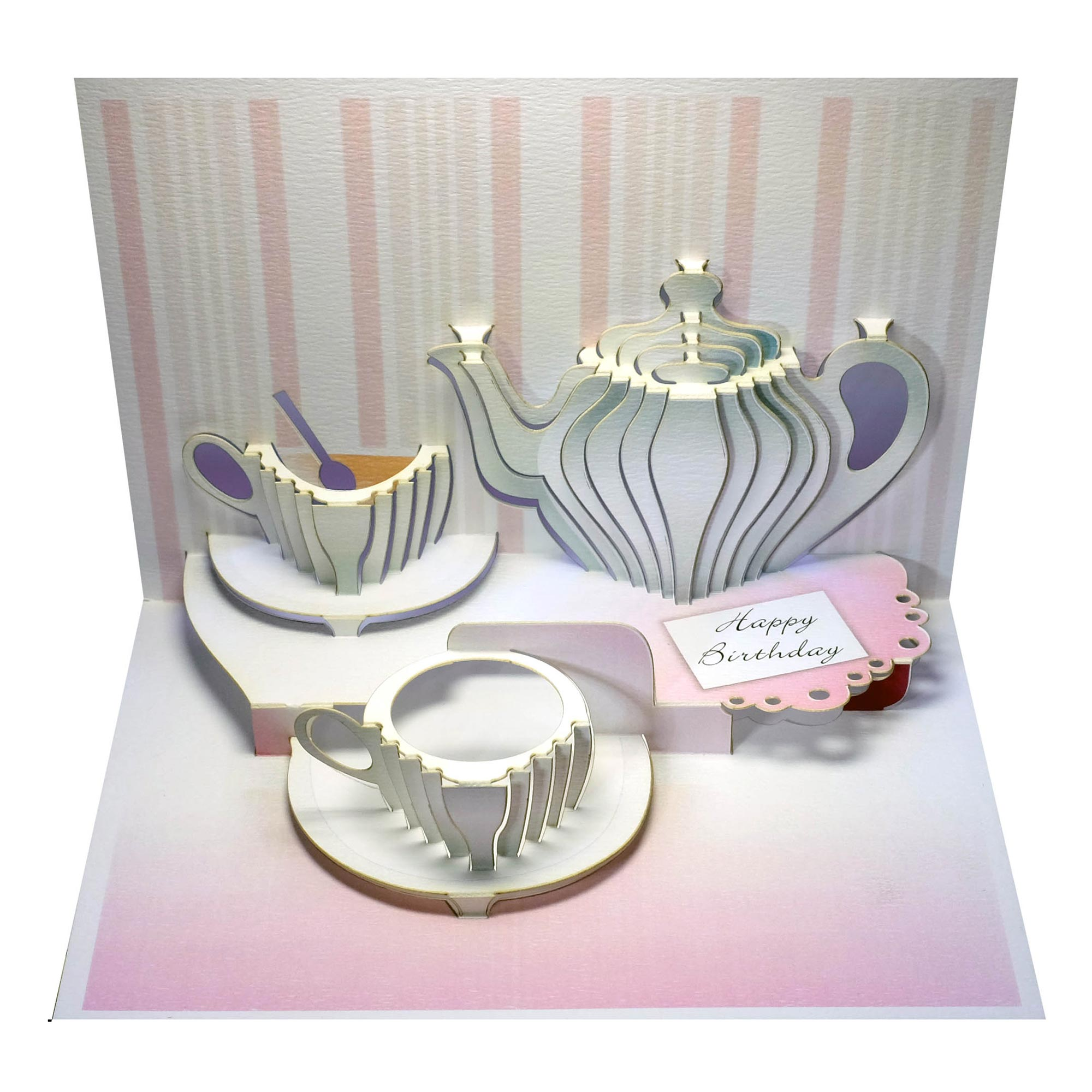 Ge feng forever happy birthday amazing pop up greeting card teatime happy birthday teatime amazing pop up greeting card m4hsunfo Image collections