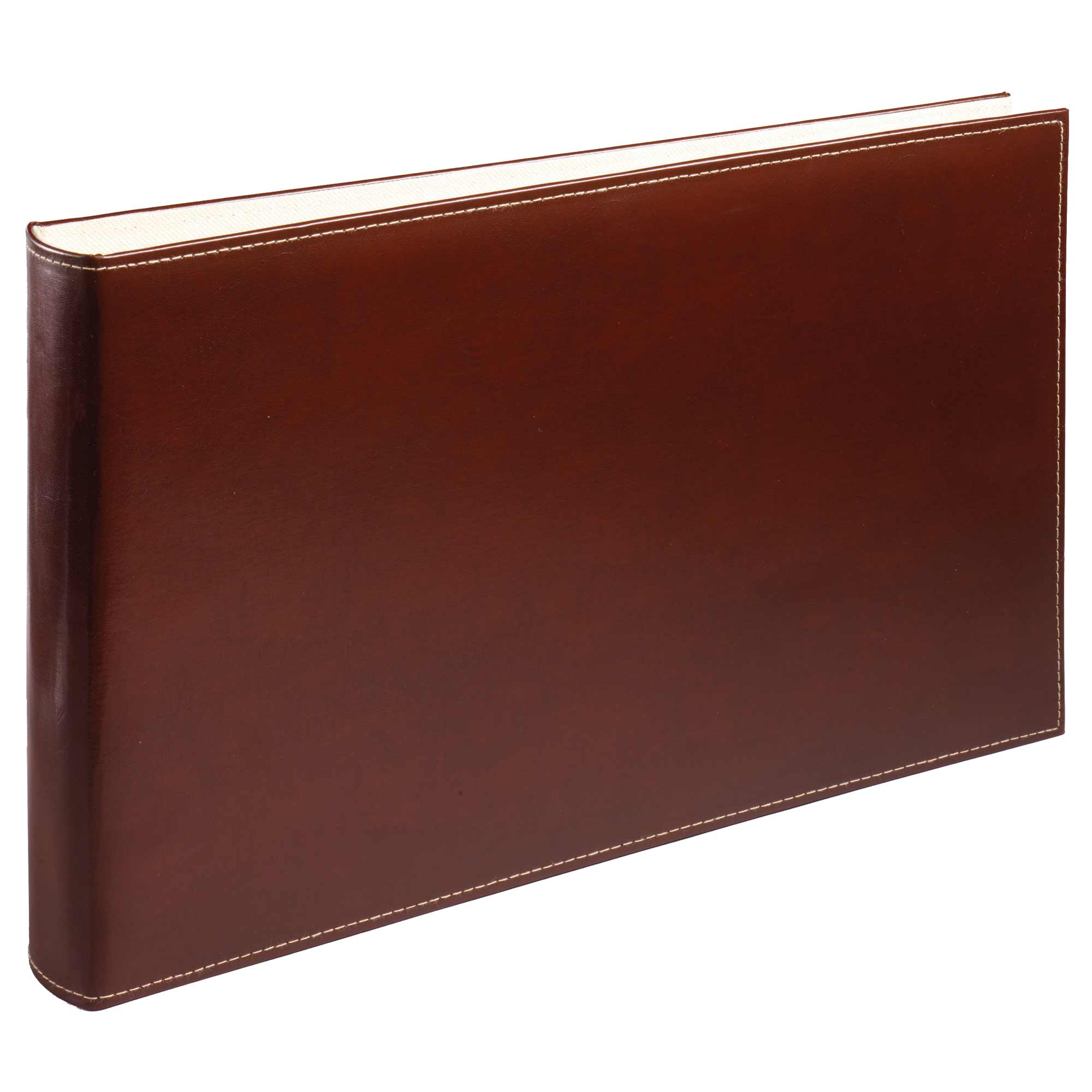 Family History Deluxe Burgundy Leather Certificate Binder Album Folder